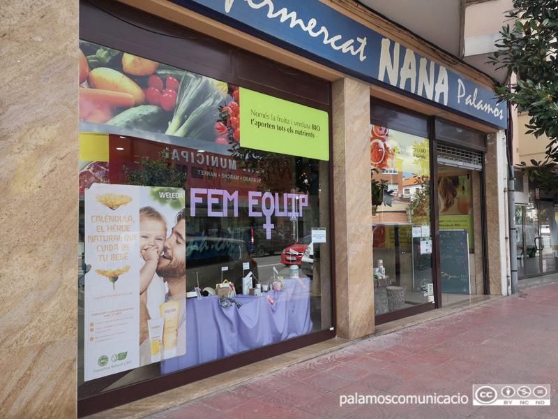 Establiment que NANA té a l'avinguda de Catalunya, a Palamós.