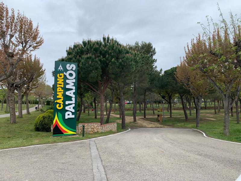 El Càmping Palamós ha començat ja la temporada. (Foto: Càmping Palamós).