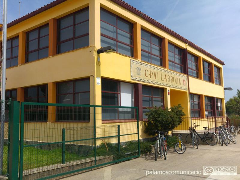 Antiga escola Vil-laromà, on ara hi ha l'Aula d'Aprenentatge.