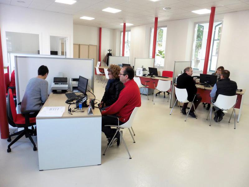 Oficina d'Atenció Ciutadana de Calonge. (Foto: Ajuntament de Calonge i Sant Antoni).