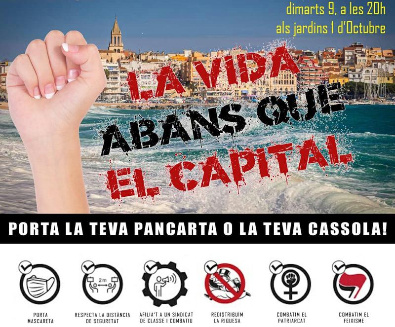 La iniciativa reivindica el dret a recuperar les mobilitzacions al carrer.