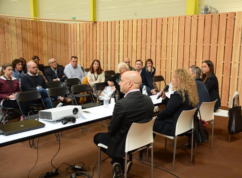 Sessió de treball del Congrés d'Emprenedoria celebrat al Palau Firal de Sant Antoni. (Foto: Ajuntament de Calonge i Sant Antoni).