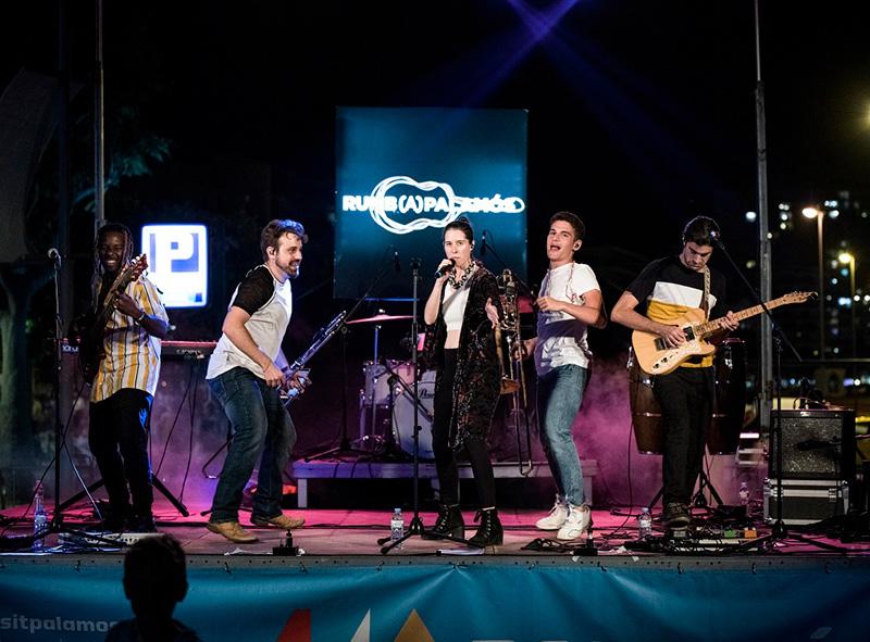 Imatge d'arxiu d'un concert del festival Rumb(A)Palamós. (Foto: J.Galderic).