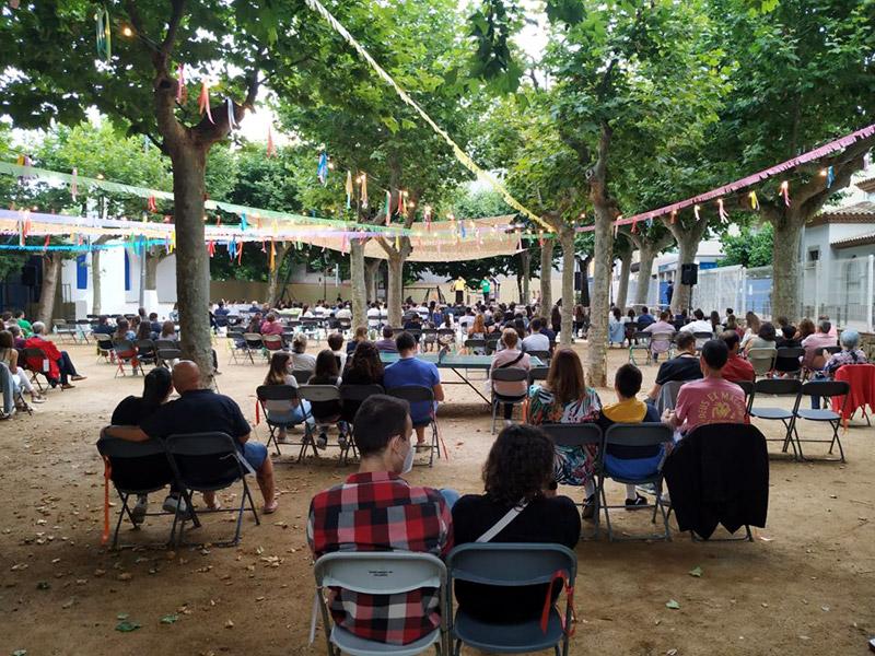 L'Arbreda viurà avui el pregó d'inici de la Festa Major de Palamós 2020. (Foto: Ajuntament de Palamós).