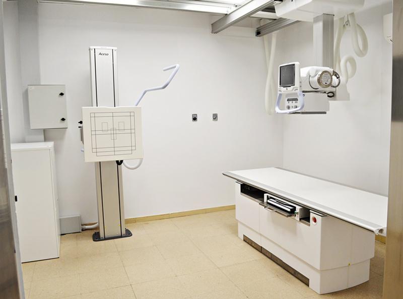 Es tracta d'un ecògraf d'alta gama i d'un nou equip de radiologia. (Foto: SSIBE).