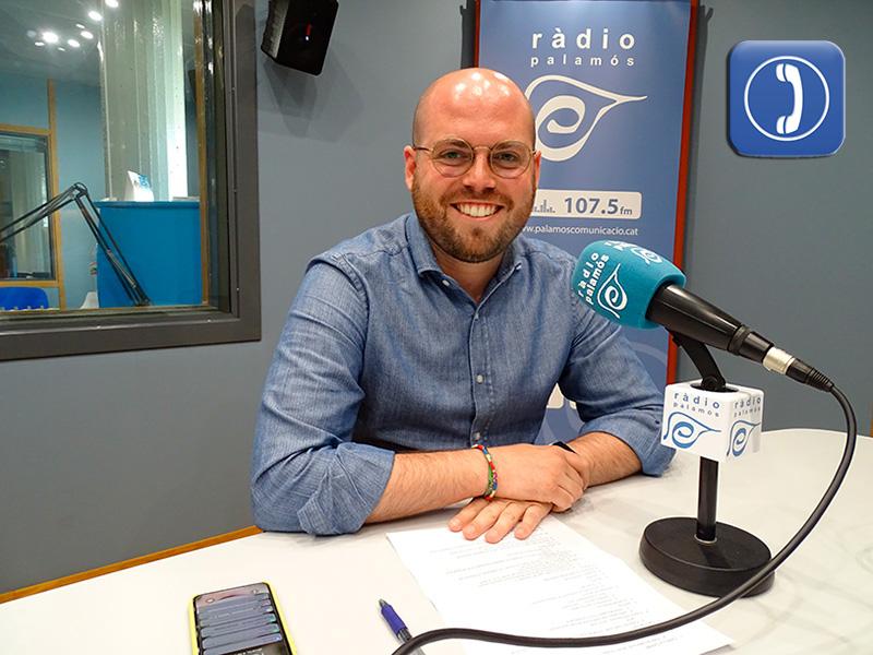 Raimon Trujillo, regidor de Junts per Catalunya a Palamós.