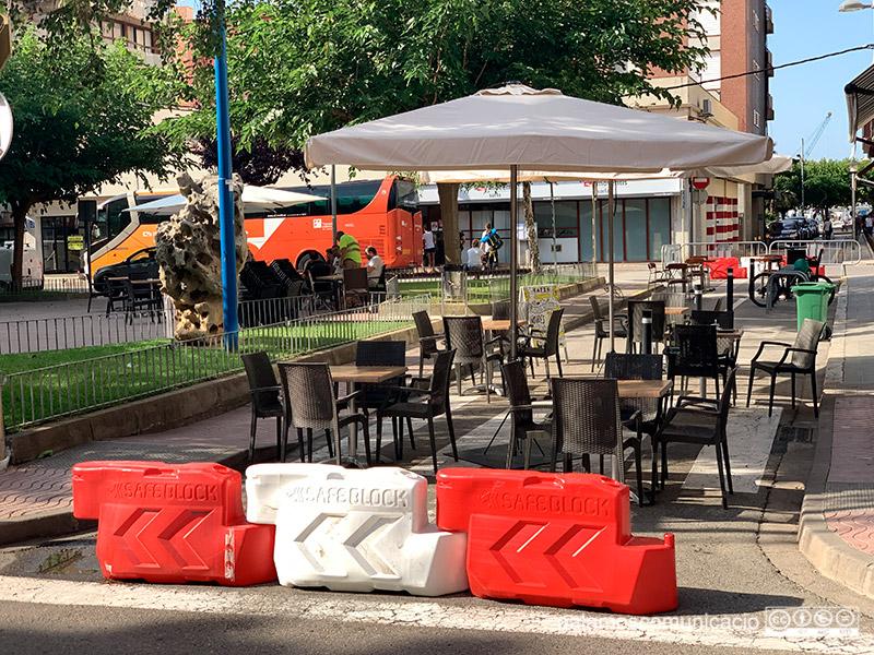 La plaça de Catalunya, aquest matí.