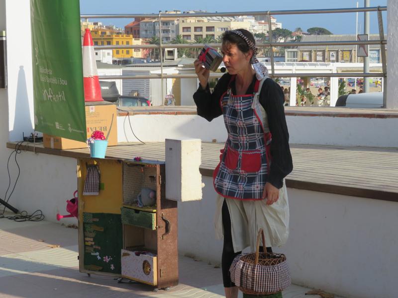Ada Cusidó explicarà la història 'Les butxaques del mar'. (Foto: Ajuntament de Palamós).