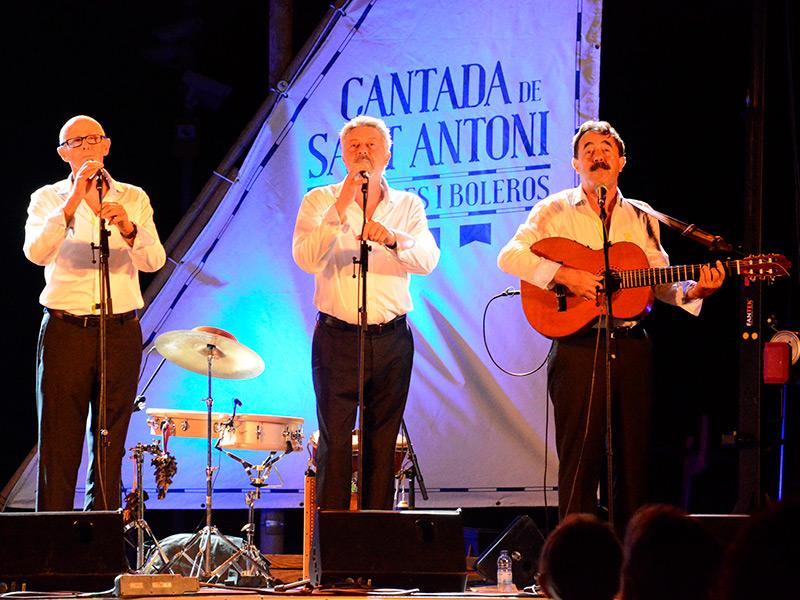 La Cantada d'Havaneres i Boleros de Sant Antoni arriba aquest any a la sisena edició.