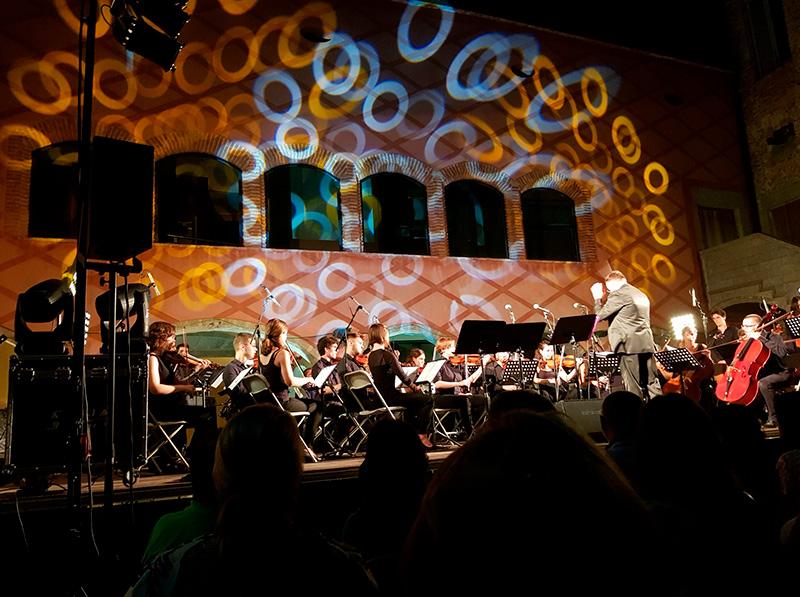 Concert dels Festivals de Música de Calonge en una imatge d'arxiu.