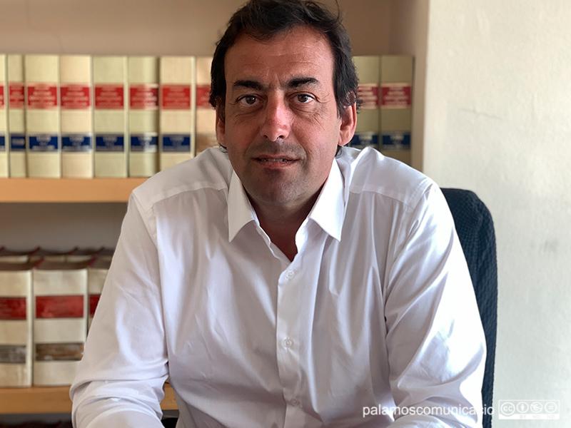 Pol Fages, president de la Cambra de Comerç de Palamós.