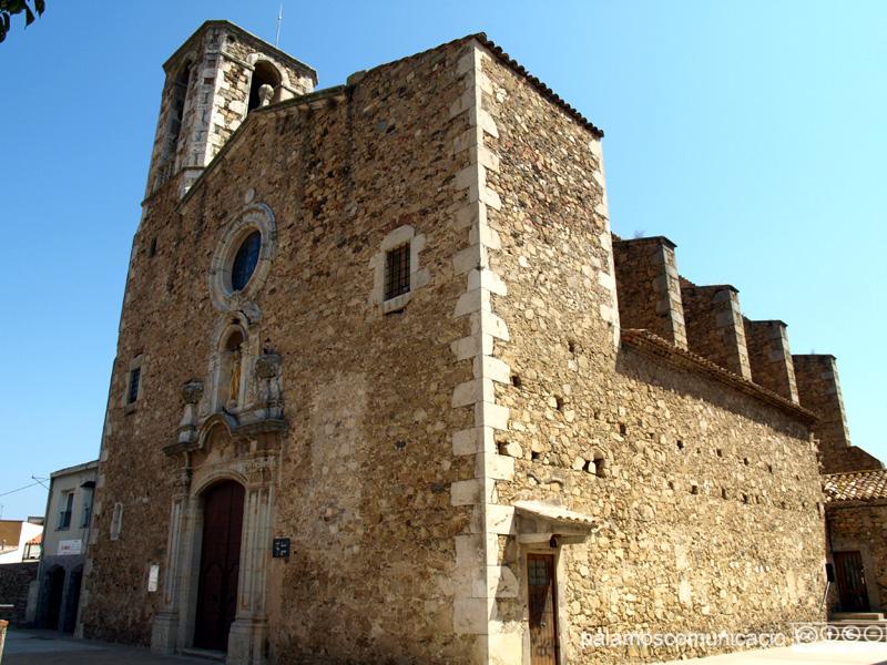Església de Santa Eugènia, a Sant Joan.