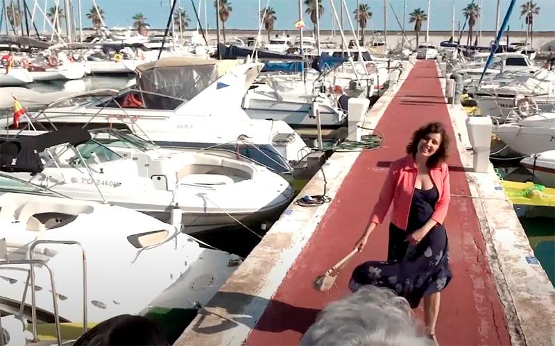 Fotograma del vídeo promocional de la Generalitat.