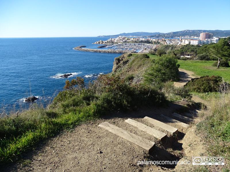 El traçat del camí de ronda de Palamós tindrà 3.400 metres de recorregut, entre les Pites i Castell.