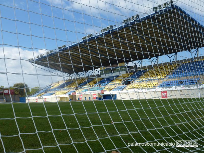 L'estadi del Palamós Club de Futbol.