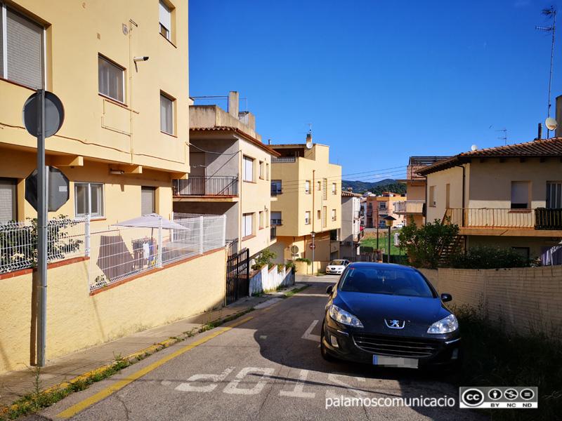 El carrer d'Enric Granados, al sector de la Rutlla Alta.