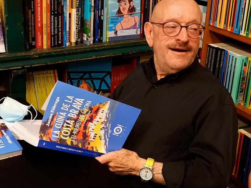 Jaume Fàbrega, autor del llibre