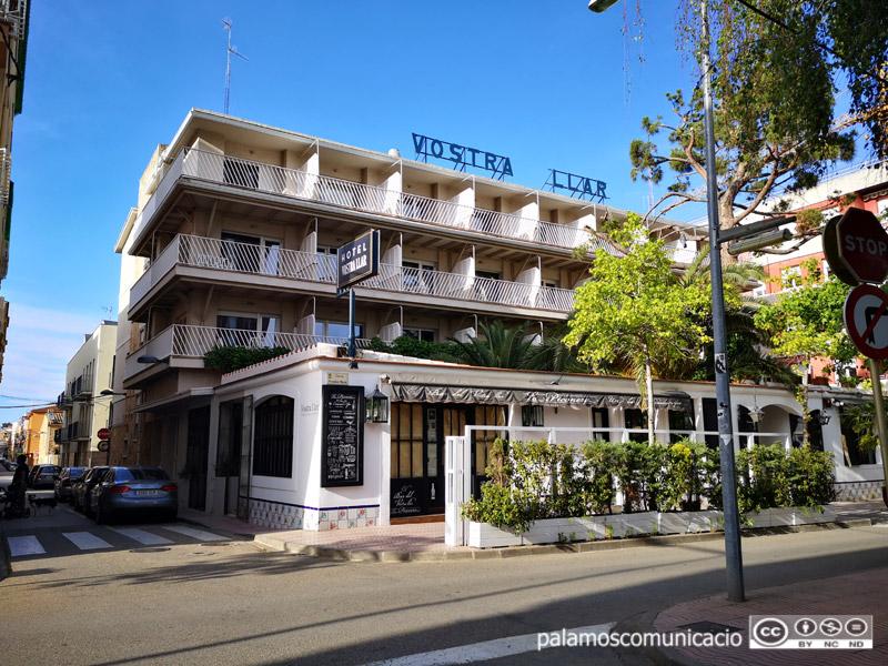 L'hotel Vostra Llar de Palamós.