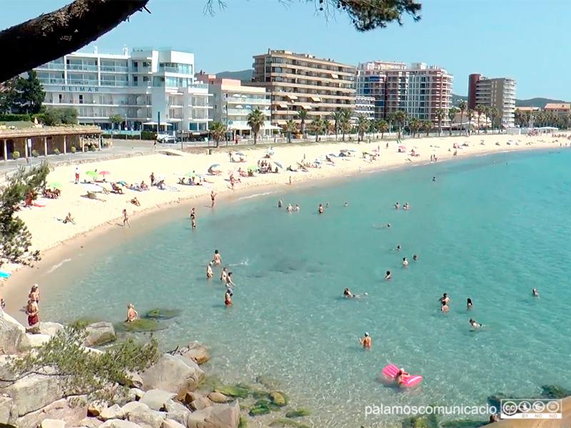 La platja de Torre Valentina, en una imatge d'arxiu.