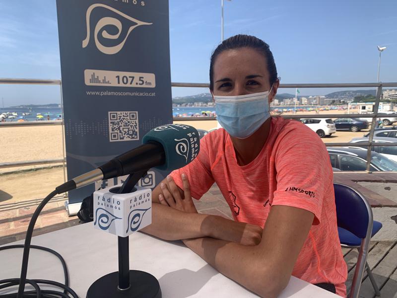 Queralt Casas, entrevistada ahir en el decurs del programa