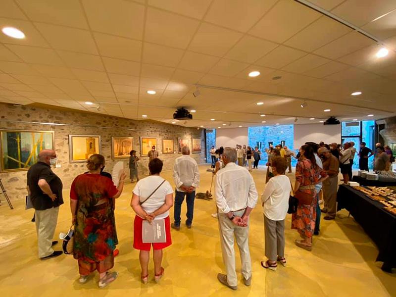 L'exposició es pot visitar de dimarts a diumenge, de 18 a 21h, fins al 13 de setembre.