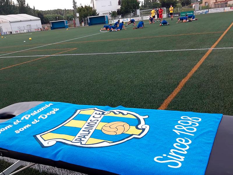 El Palamós ha iniciat aquesta setmana entrenaments voluntaris pels seus jugadors. (Foto: Palamós CF).
