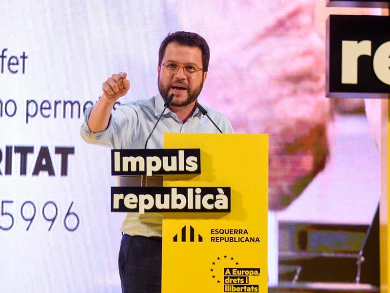 Pere Aragonès, vicepresident de la Generalitat, en una imatge d'arxiu. (Foto: twitter Pere Aragonès).