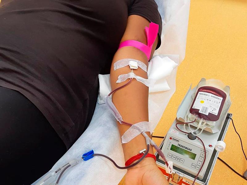 La xarxa hospitalària necessita un miler de donacions diàries de sang. (Foto: Banc de Sang i Teixits).