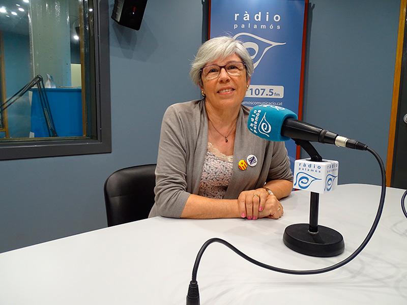 La regidora de la CUP a l'Ajuntament de Palamós, Roser Huete.