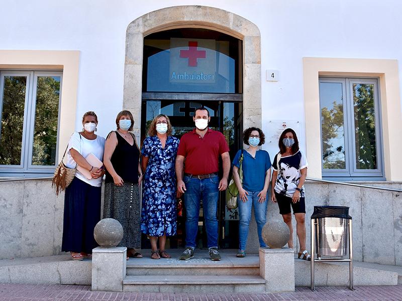 Està previst reobrirl el consultori de Calonge al públic, el proper mes de setembre. (Foto: Ajuntament de Calonge i Sant Antoni).