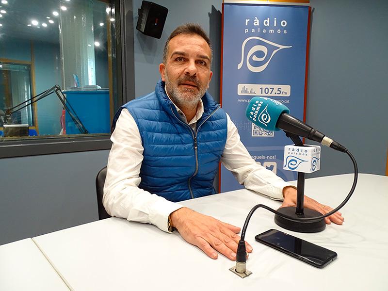 El portaveu de Ciutadans a l'Ajuntament de Palamós, Cristóbal Posadas.