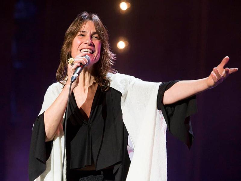 La cantant Lídia Pujol actua avui al Mas Geli de Pals. (Foto: www.instagram.com/lidiapujoliter).