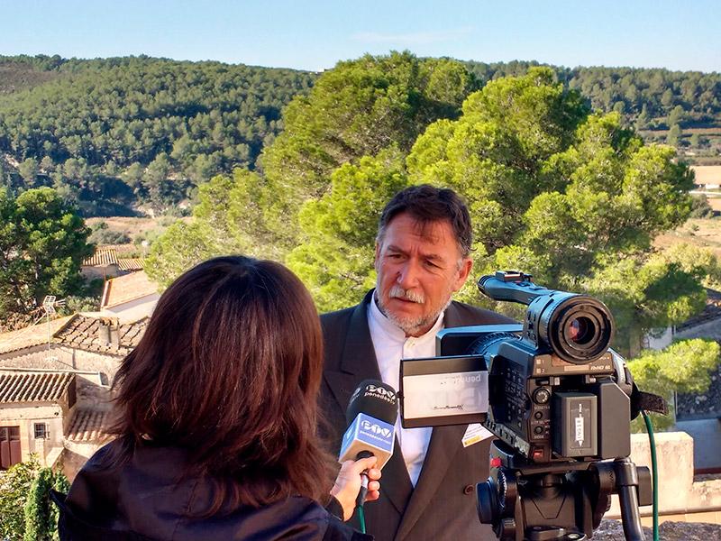 L'ambientalista i geògraf, Martí Boada. (Foto: RTV Vilafranca).