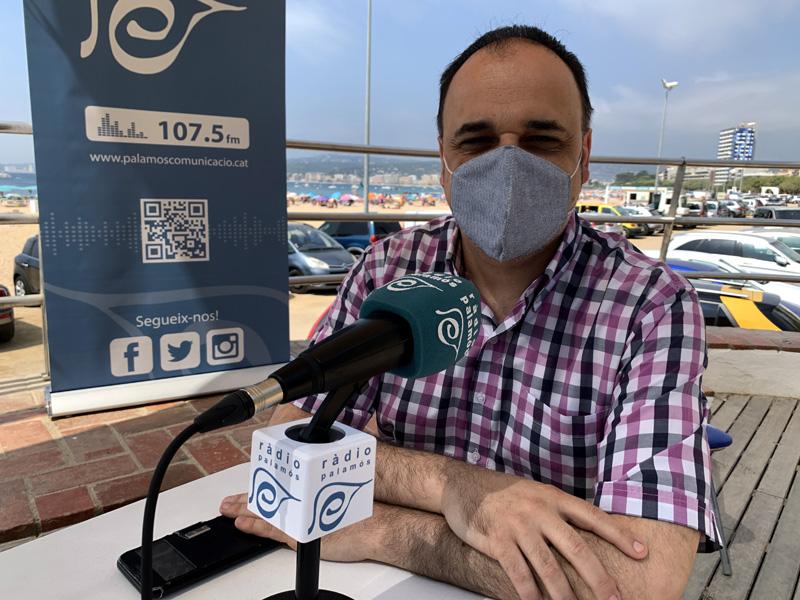 L'historiador Gabriel Martín va passar ahir pels micròfons del programa