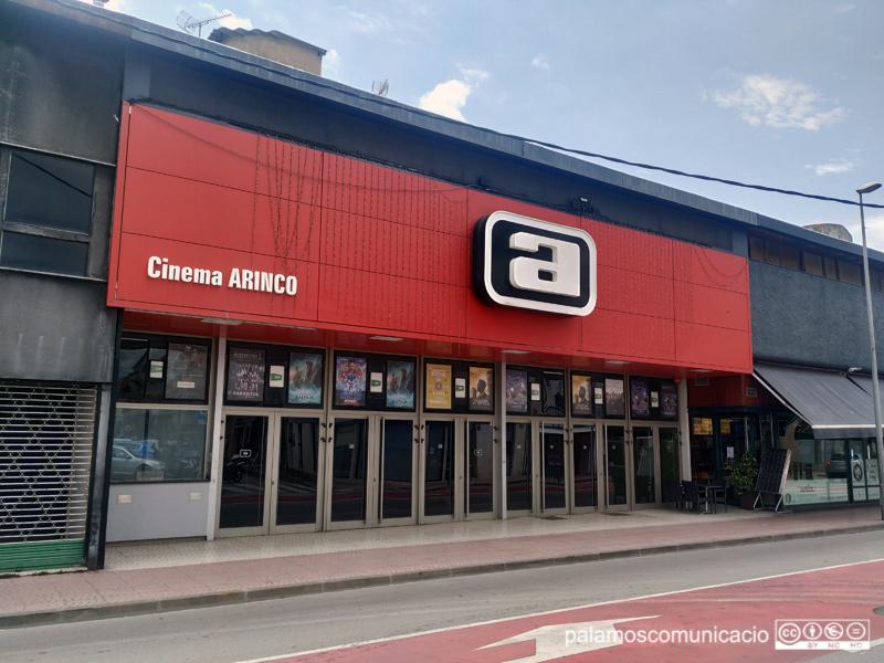 El cine Arinco tornarà a projectar pel·lícules aviat.