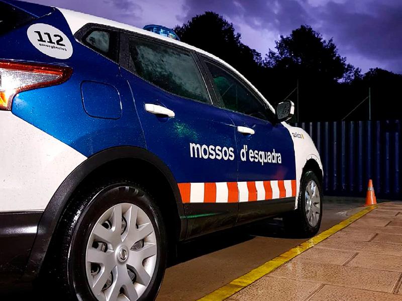 Els Mossos d'Esquadra van fer la detenció hores després de la troballa del cos.