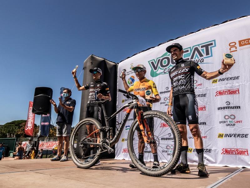 La VolCAT Costa Brava va reunir a 500 ciclistes aquest passat cap de setmana. (Foto: Ajuntament de Calonge i Sant Antoni).