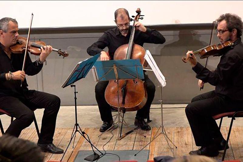 El trio Arcattia actua avui a les 8 del vespre a la Capella del Carme.