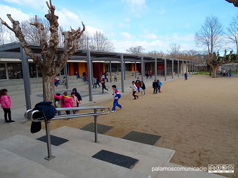 El mòdul d'educació infantil de l'escola Vila-romà.