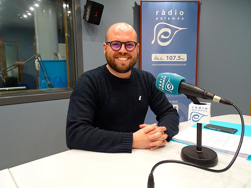 Raimon Trujillo, portaveu de Junts per Catalunya a l'Ajuntament de Palamós.