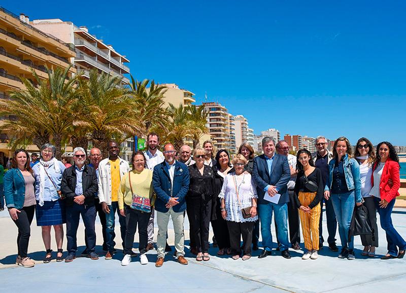 Fotografia de la candidatura de Republicans de Calonge i Sant Antoni a les darreres eleccions municipals.