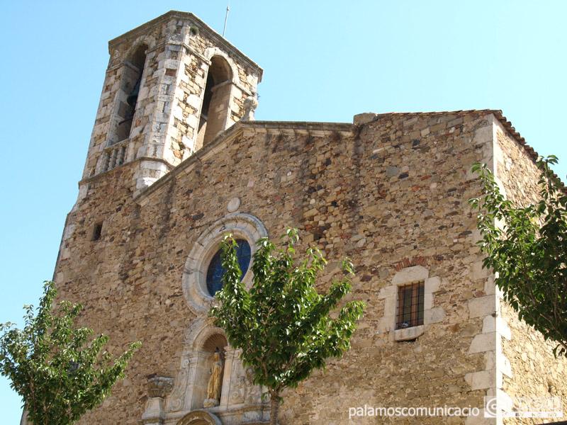 L'església de Santa Eugènia, a Sant Joan.