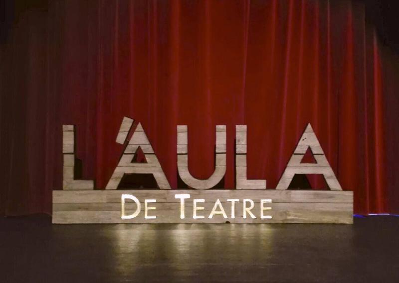 L'Aula de Teatre de Palamós es prepara per a un nou curs.