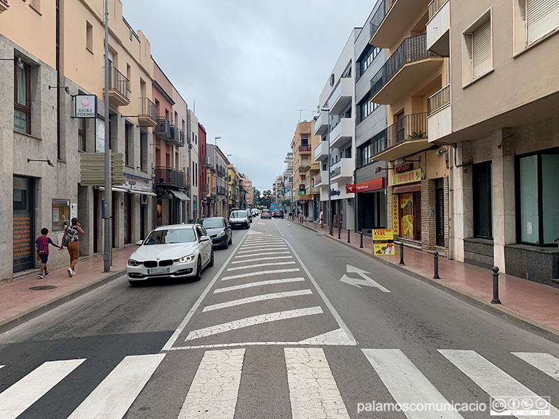 Vivendes de Palamós a l'avinguda de l'Onze de Setembre.