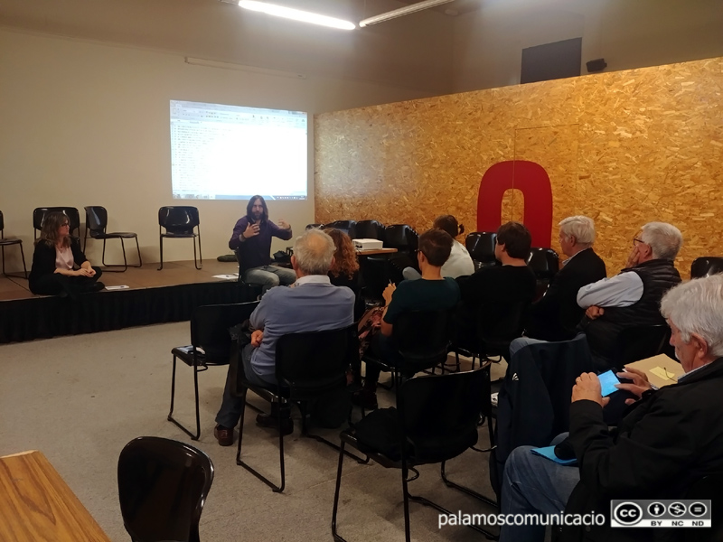 Reunió del procés participatiu del pressupost municipal en una imatge d'arxiu.