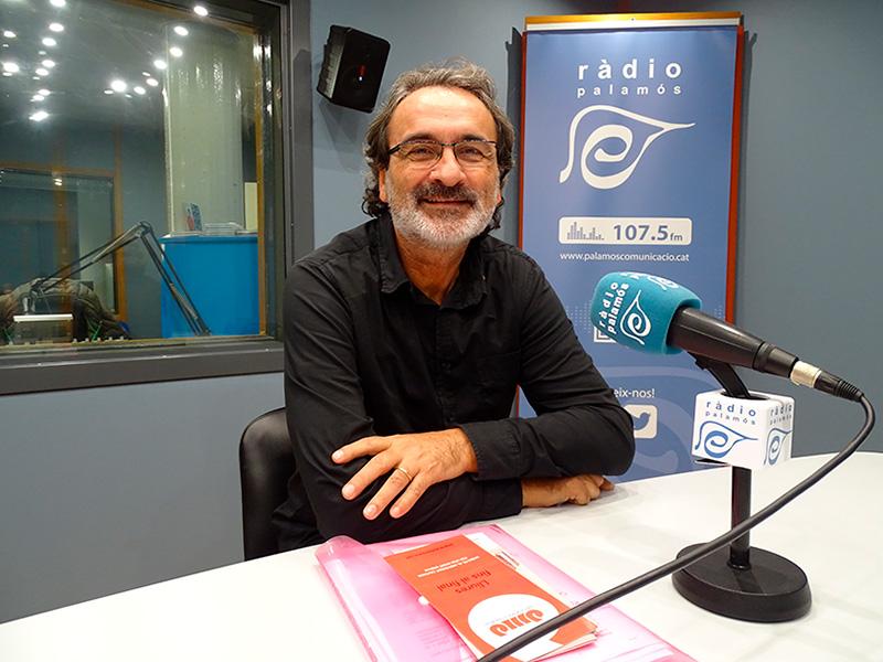 Miquel Verdaguer, voluntari al Baix Empordà de l'Associació pel Dret a Morir Dignament.
