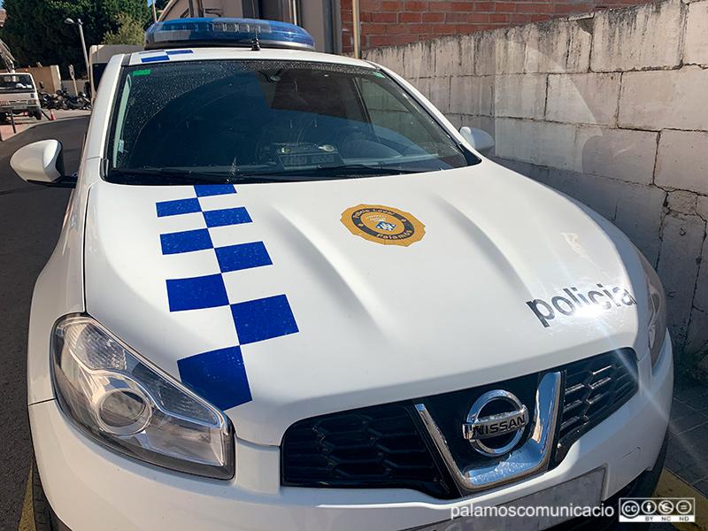 Vehicle de la Policia Local de Palamós.