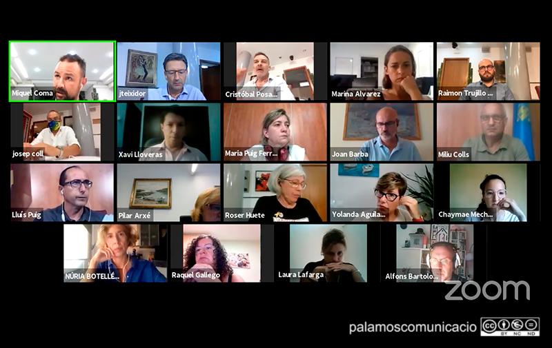 El Ple de l'Ajuntament de Palamós del passat mes de setembre.