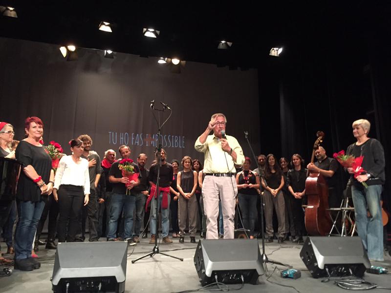 El concert s'havia de fer aquest diumenge a La Gorga. (Foto: Creu Roja Palamós).