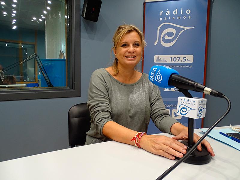 Laura Lafarga, regidora d'ERC a l'Ajuntament de Palamós.